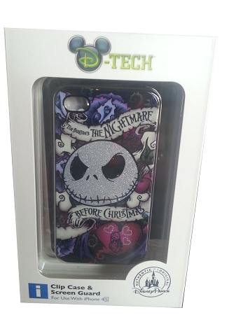 Disney Iphone 4 Case - Jack Skellington - Nightmare Before Christmas