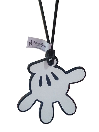 Disney Luggage Bag Tag - Mickey Mouse - White Glove