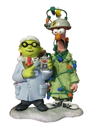 Disney Christmas Ornament - Beaker and Dr. Bunsen Honeydew - Muppets