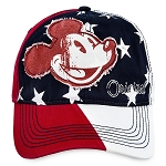 Disney Hat - Baseball Cap - Mickey Mouse Americana - Disney World