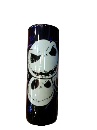 Disney Tall Shot Glass - Jack Skellington Faces
