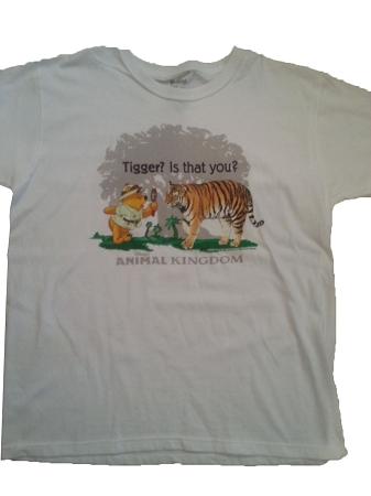 Disney Shirt For ADULTS - Winnie the Pooh - Tigger is that you?