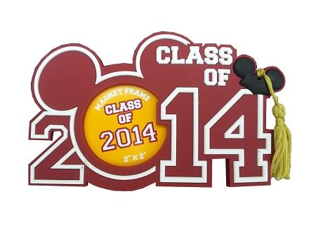 Disney Photo Frame Magnet - 2014 Graduation - Class of 2014