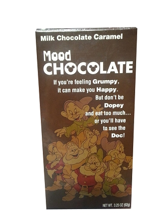 Disney Parks Candy - Seven Dwarfs - Milk Chocolate Caramel