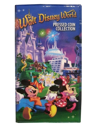 Disney Pressed Coin Book - Walt Disney World - Mickey Mouse & Friends