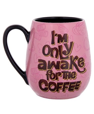 Disney Coffee Mug Minnie Mornings Only Awake For The C