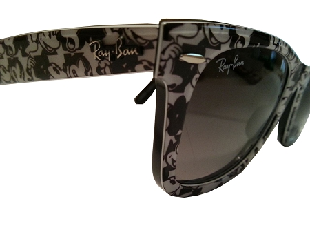 1e53042b96e Disney Sunglasses - RayBan - Mickey Mouse - Black and White