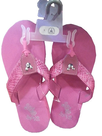 Disney Sandals for Women - Mickey Mouse - Walt Disney World - Pink