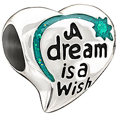 Disney Chamilia Charm - A Dream is a Wish Heart