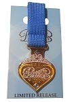 Disney Marathon Pin - 2014 Princess 1/2 Marathon Logo Metal