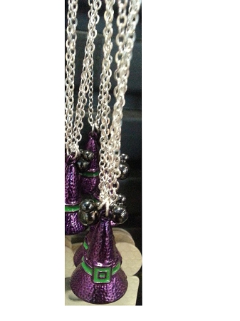 Disney Necklace - Halloween Witch Hat