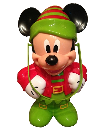 Disney Christmas Popcorn Bucket - Mickey Mouse Elf