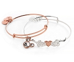 Disney Alex and Ani Bracelet Set - Valentine's Day
