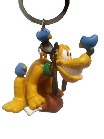 Disney Keychain - Pluto - Turkey Leg