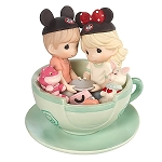 Disney Precious Moments Figure - Mad Tea Party - Tea-riffic Day