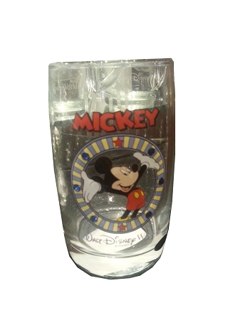 Disney Arribas Juice Glass - Mickey Mouse - Jeweled