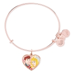 Disney Alex and Ani Bracelet - Aurora and Prince - Valentine's Day
