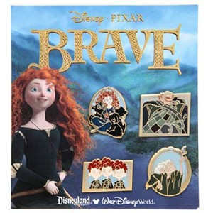 Disney Booster Pin Set - Pixar Brave
