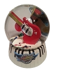 Disney Snow Globe - Rock n Roller Coaster Guitar
