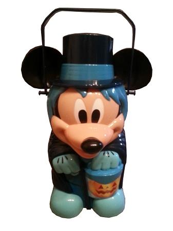 Disney Halloween Popcorn Bucket Mickey Mouse Hitchhiking