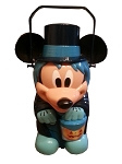 Disney Halloween Popcorn Bucket - Mickey Mouse Hitchhiking Ghost