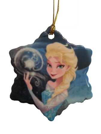 front - Elsa Christmas Decoration