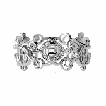 Disney Rebecca Hook Ring - Cinderella Carriage - Silver