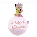 Disney Christmas Ornament - Baby's 1st Christmas - Minnie Mouse
