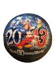 Disney Basketball - 2013 Logo -  Sorcerer Mickey Mouse and Friends
