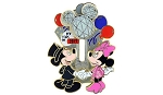 Disney New Years Eve Pin - Mickey and Minnie Mouse Icon Ball Slider