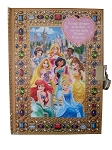 Disney Diary - Princess Lock Diary - 8 Princesses