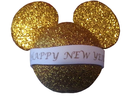 Disney Antenna Topper - Happy New Years - Mickey Mouse