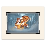 Disney Noah Art Print - Beauty and the Beast - Evening Waltz