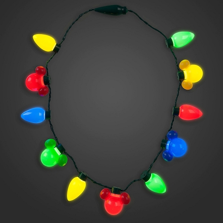 add to wish list - Christmas Light Necklace Battery Operated