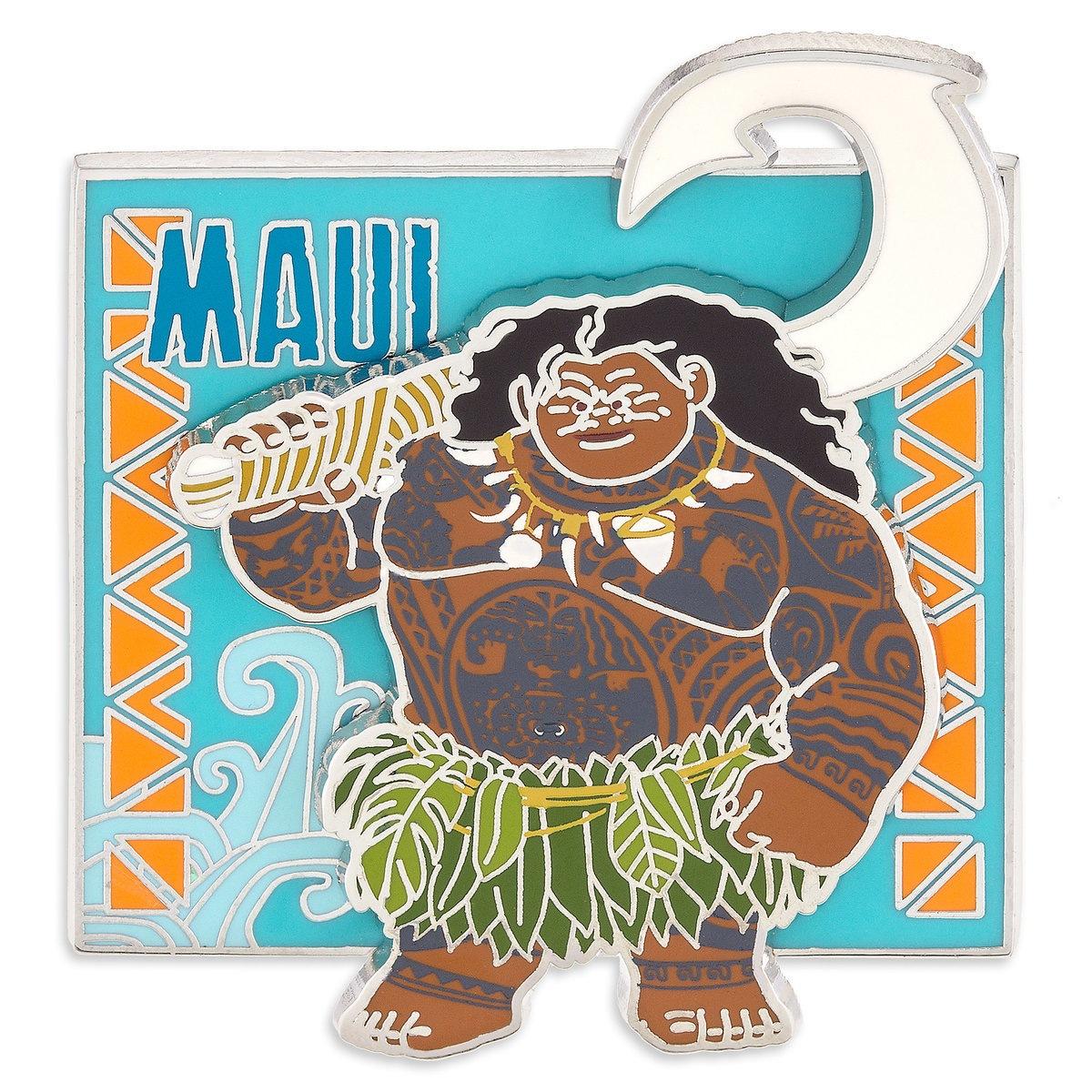 Maui Moana 2016 Disney Pin