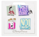 Disney Pin Set - The Emperor's New Groove - 4 Pins
