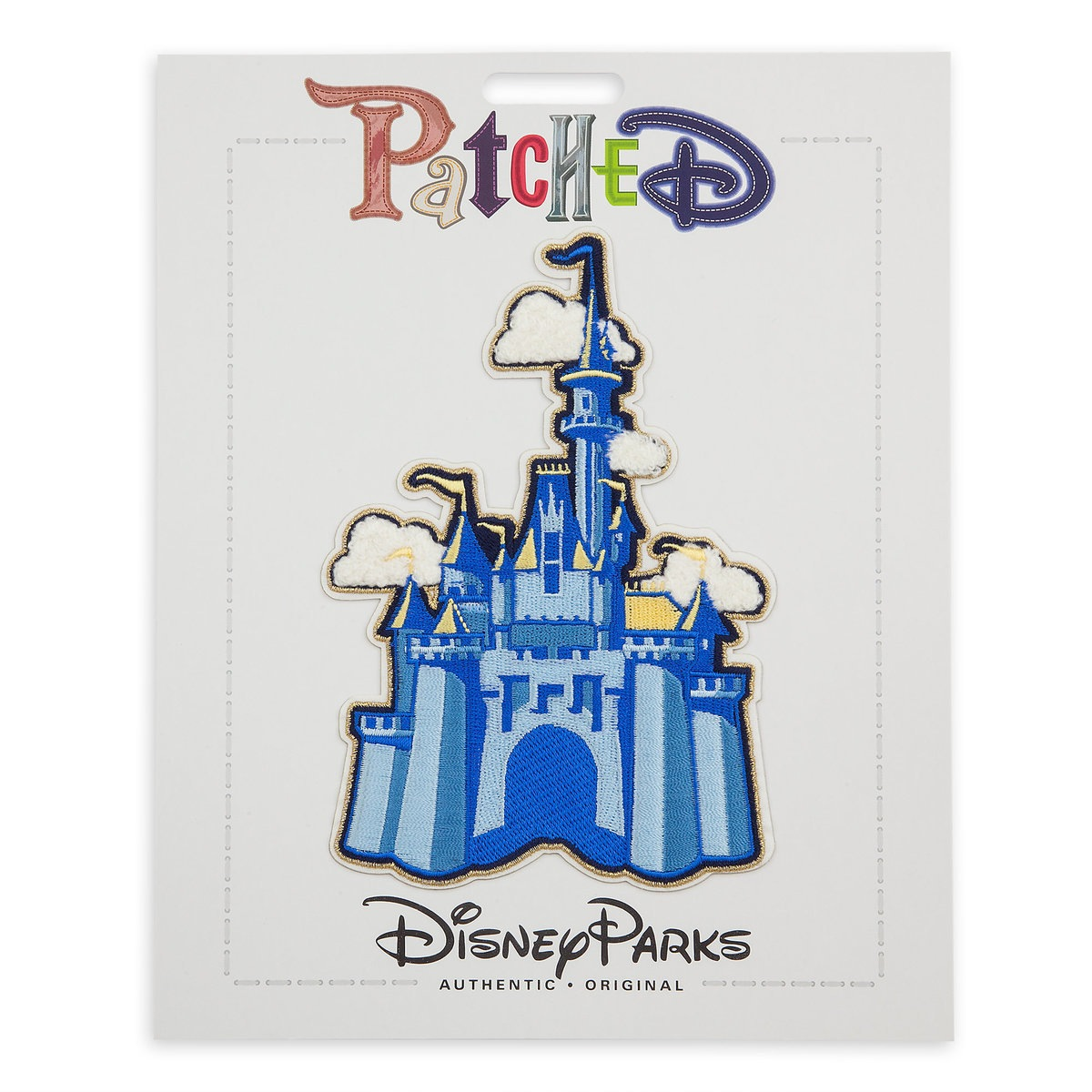 Disney Iron On Patch - Patched - Cinderella Castle