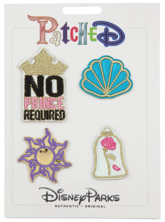 Disney Iron On Patch Set - Patched - Disney Princess
