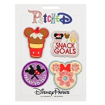 Disney Iron On Patch Set - Patched - Disney Parks Food Icons