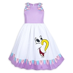 Disney Dress for Girls - Mrs. Potts and Chip - Beauty and the Beast