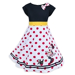 Disney Dress for Girls - Minnie Mouse and Figaro