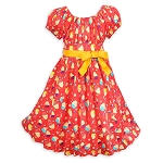 Disney Dress for Girls - Pineapple Swirl
