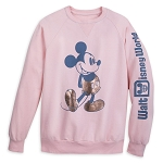 Disney Sweatshirt for Women - Mickey Mouse - Walt Disney World - Briar Rose Gold