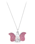 Disney Crislu Necklace - Dumbo - Sterling Silver