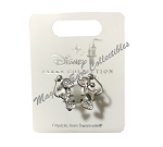 Disney Ring - Mickey and Minnie Mouse Pose - Silver