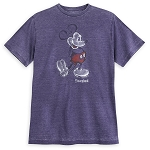 Disney T-Shirt for Men - Classic Mickey - Walt Disney World - Purple