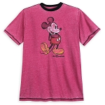 Disney T-Shirt for Men - Classic Mickey - Walt Disney World - Red