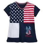 Disney Shirt for Girls - Minnie Mouse Americana - Walt Disney World
