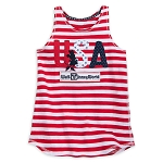 Disney Tank Top for Girls - Minnie Americana U.S.A - Walt Disney World