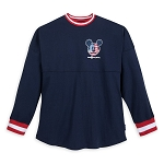 Disney Spirit Jersey for Adults - Mickey Mouse Americana - Blue
